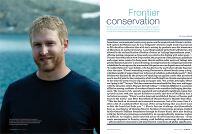 Frontier conservation