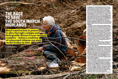 The race to save the South March Highlands
