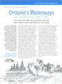 Ontario's Waterways