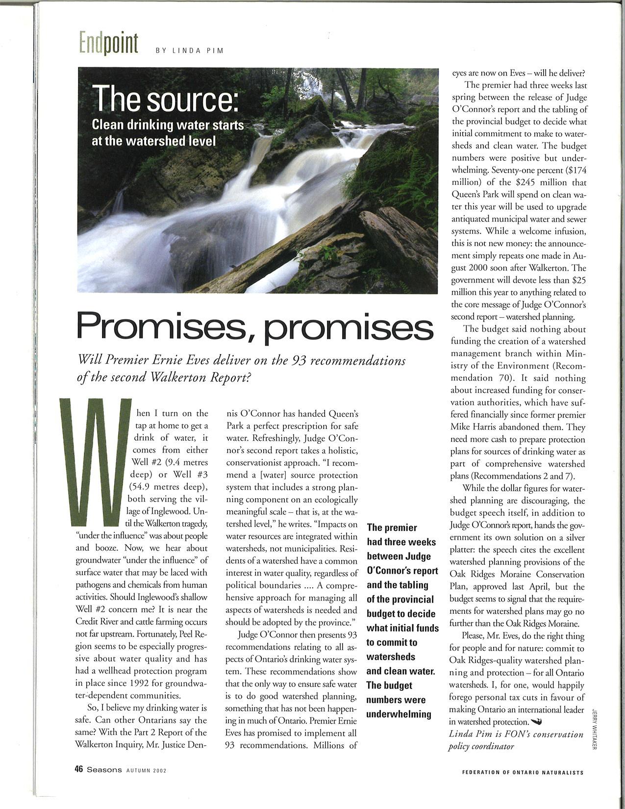 Endpoint: Promises, promises