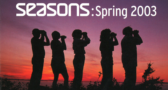 Seasons Spring 2003 Table Of Contents