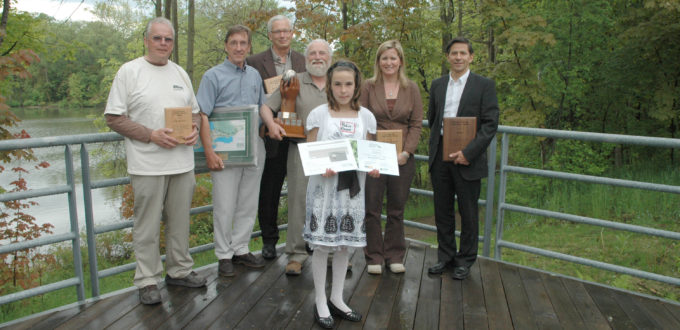 Conservation Award Winners 2009 Group Photo