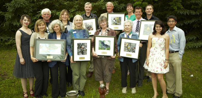 Conservation Award Winners 2011 Group Photo