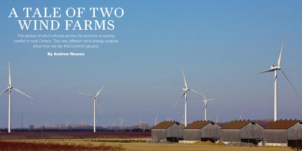 wind turbines bird habitat and farmlands