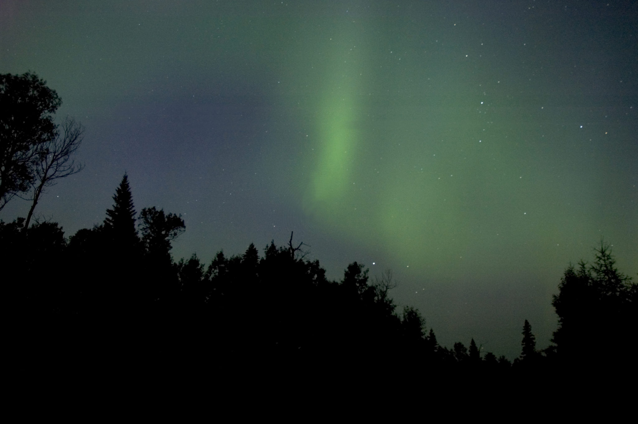 Aurora borealis boreal Ontario northern lights