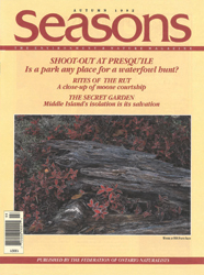 ON Nature Fall 1992 cover