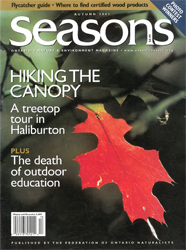 ON Nature Magazine Fall 2001 cover