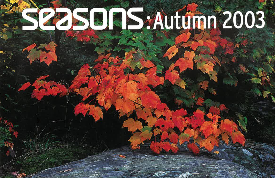 Seasons Magazine Autumn 2003