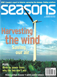 ON Nature Magazine Fall 2003 cover