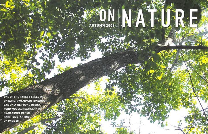 ON Nature Magazine Fall 2006