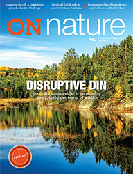 ON Nature Magazine Fall 2018 cover