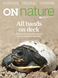 ON Nature Magazine Fall 2015 cover