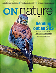 ON Nature Magazine Spring 2018 cover