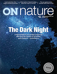 ON Nature Magazine Summer 2017 cover