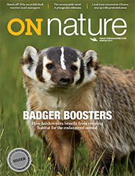 ON Nature Magazine Winter 2017 cover