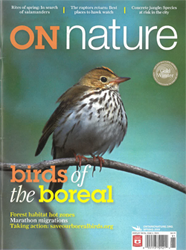ON Nature Magazine Spring 2009 cover