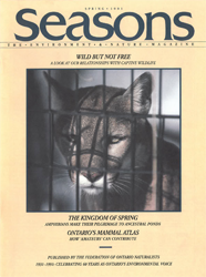 ON Nature Magazine Spring 1991 cover