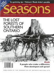 ON Nature Spring 2001 cover