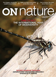 ON Nature Magazine Spring 2010 cover
