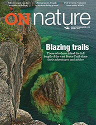 ON Nature Magazine Spring 2017 cover