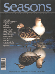 ON Nature Magazine Summer 1992 cover
