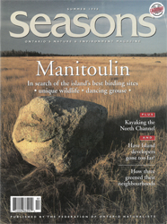 ON Nature Summer 1998 cover
