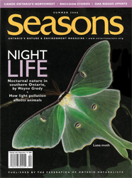 ON Nature Summer 2000 cover