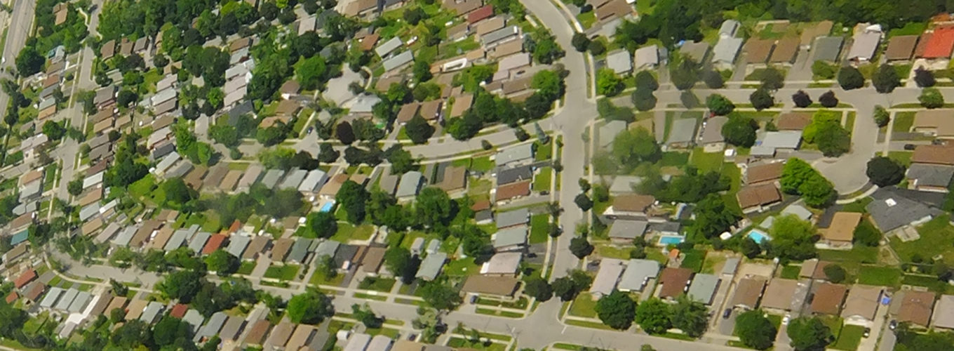 Toronto suburbs and lawns