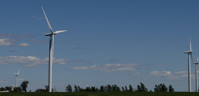 Wind Turbines, Wolfe Island