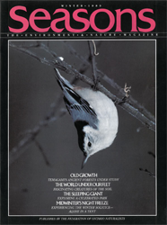 ON Nature Magazine Winter 1989 cover