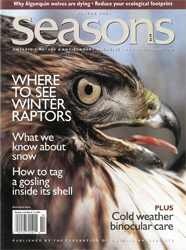 ON Nature Magazine Winter 2001 cover
