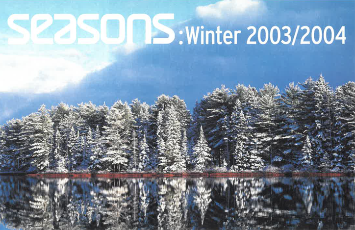 Seasons Magazine Winter 2003